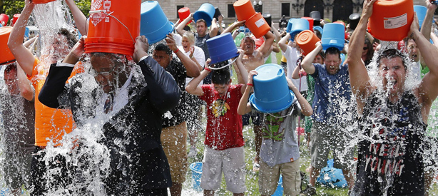Why the Ice Bucket Challenge went viral…