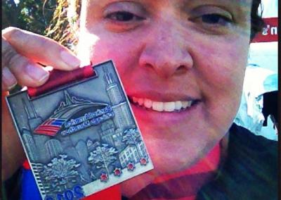 Patty in Chicago Marathon 2013