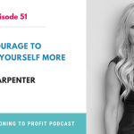 Postioning to Profit Podcast- Episode 51 Card -Lisa Carpenter